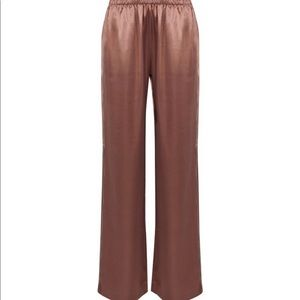 Silk and modal blend J brand wide leg pants